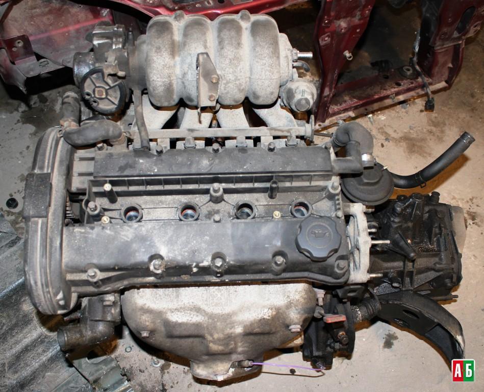 Двигатель на нексию в картинках