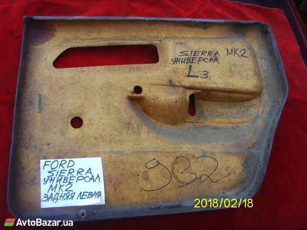 карта салона для Ford Sierra - купить на Автобазаре - фото 4