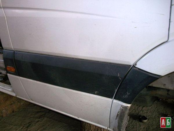 молдинг двери для Mercedes-Benz Sprinter - купить на Автобазаре - фото 3