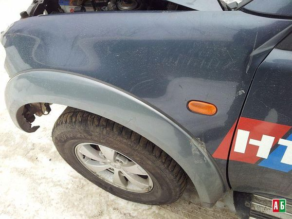 молдинг заднего/переднего бампера для Mitsubishi l 200 - купить на Автобазаре - фото 4